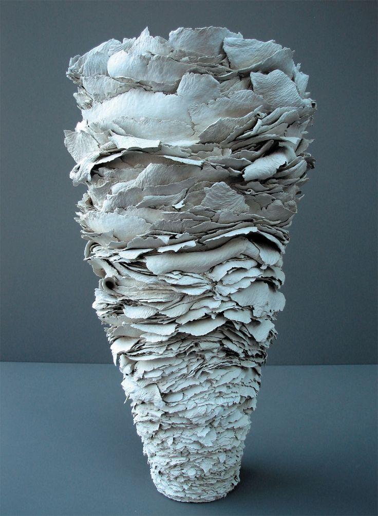 Karin stegmaier ceramics paper clay pinterest