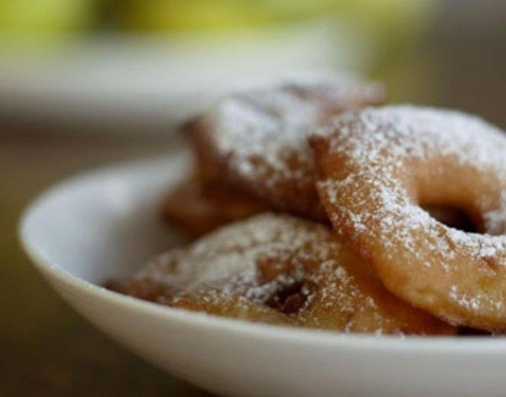 Portuguese apple fritters | Yumm | Pinterest