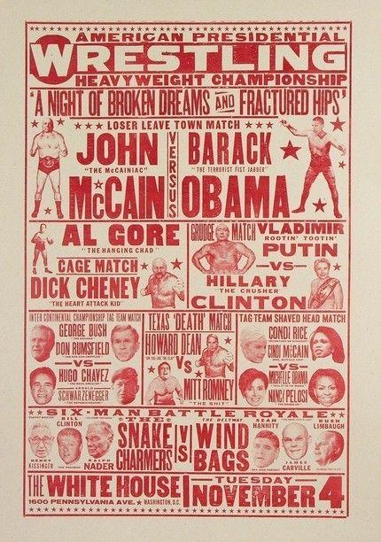 american presidencial wrestling