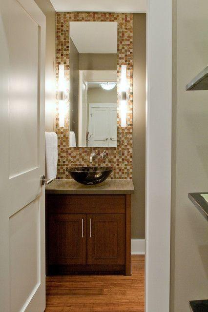 25 Modern Powder Room Design Ideas For The Home Pinterest