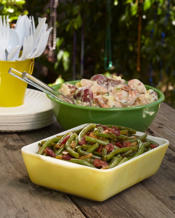 "Who Dat Potato Salad & Zydeco Green Beans"" From ""Taste of Tremé..."