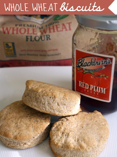 Whole Wheat Biscuits | Recipes to Die For! | Pinterest