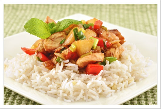 Chicken with Pears and Honey-Rum Sauce: A quick-to-fix dish of ...