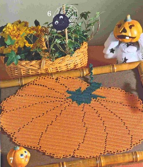 Crocheted Doily or Place Mat...Good Graph...Free ...