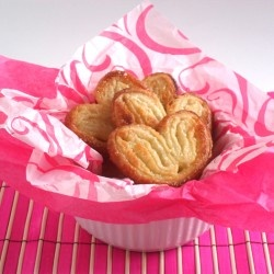 Palmiers- had these every day in France. They're delicious.