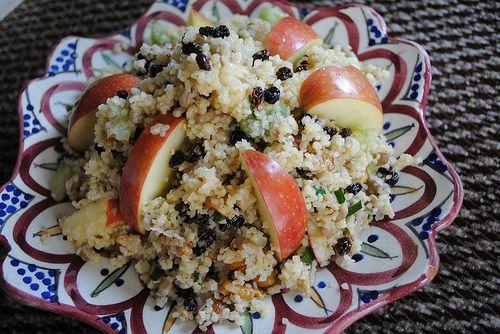 Pomegranate And Roasted Tomato Bulgur Salad Recipe — Dishmaps