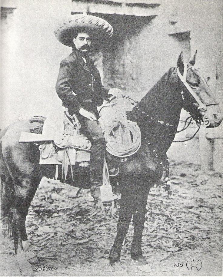 General Emiliano Zapata | Mi cultura Méxicana! | Pinterest