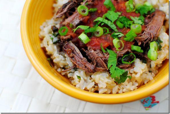 Mexican Braised Beef (Crock Pot) | YuMmY YuMmY.. | Pinterest