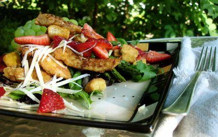 Parmesan Chicken Salad