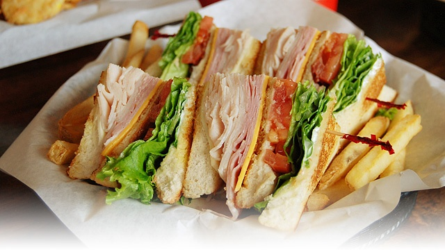 Club Sandwich | OMG! I'm so hungry! | Pinterest