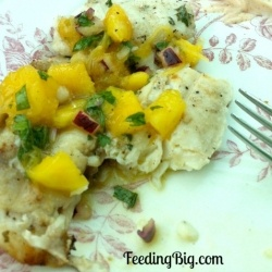 Grilled Tilapia with Mango Salsa recipe | Recipes | Pinterest