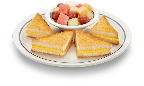 Cheese Sandwhich Gooey cheese grilled just right with seasonal fruit ...