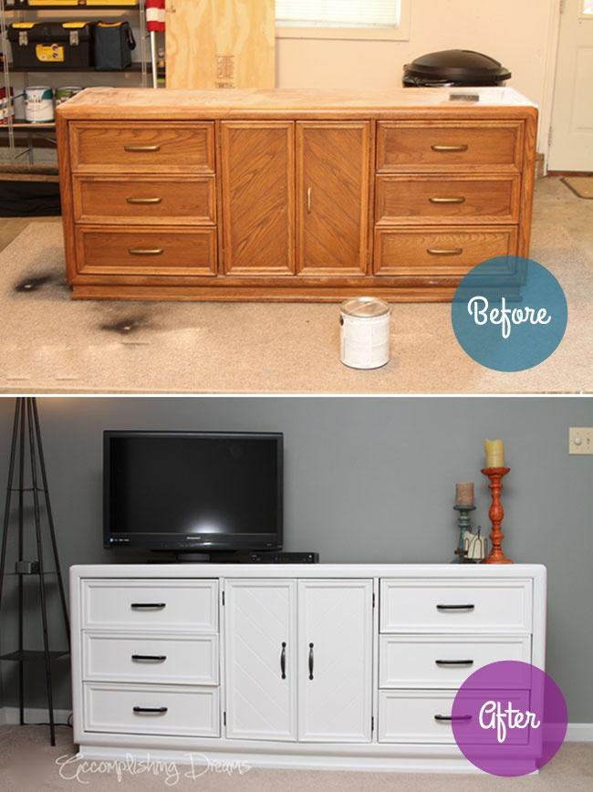 dresser makeover crafts diy pinterest. Black Bedroom Furniture Sets. Home Design Ideas
