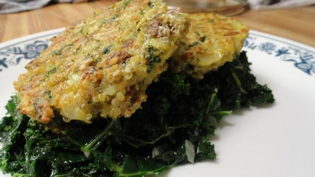 Baked Quinoa Patties | Savory Nomliciousness | Pinterest