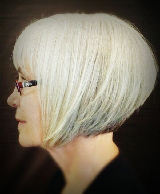 Stacked Inverted Bob   Short Hairstyle 2013