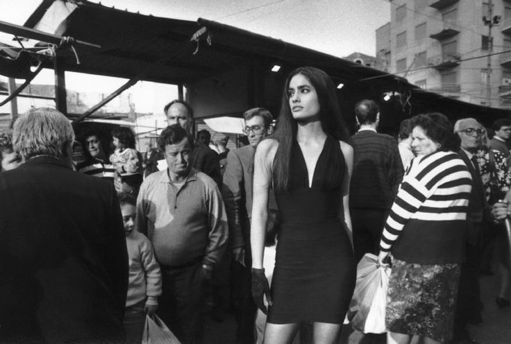 ITALY, Sicily, Palermo: Fashion picture with Carmen SAMMARTIN (c) Ferdinando Scianna/Magnum Photos