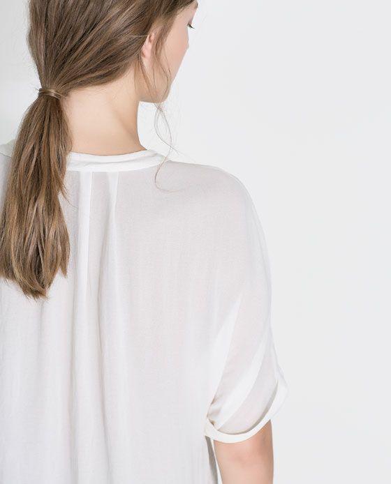 Zara Peter Pan Collar Blouse 62
