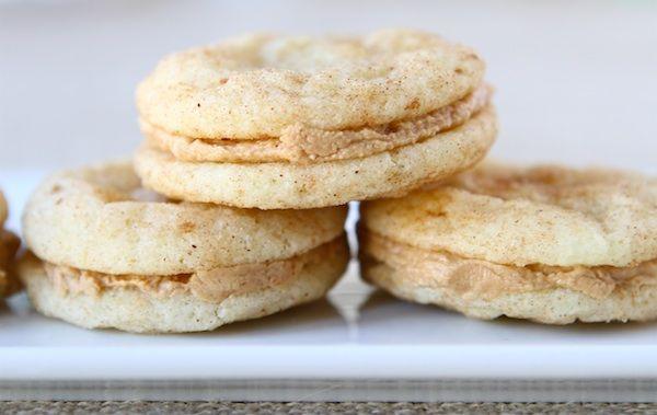 Snickerdoodle Biscoff Sandwich Cookies