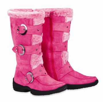 Brilliant  Girls Red Winter Boots Girls Winter Wear Toddlers Red Winter Boots