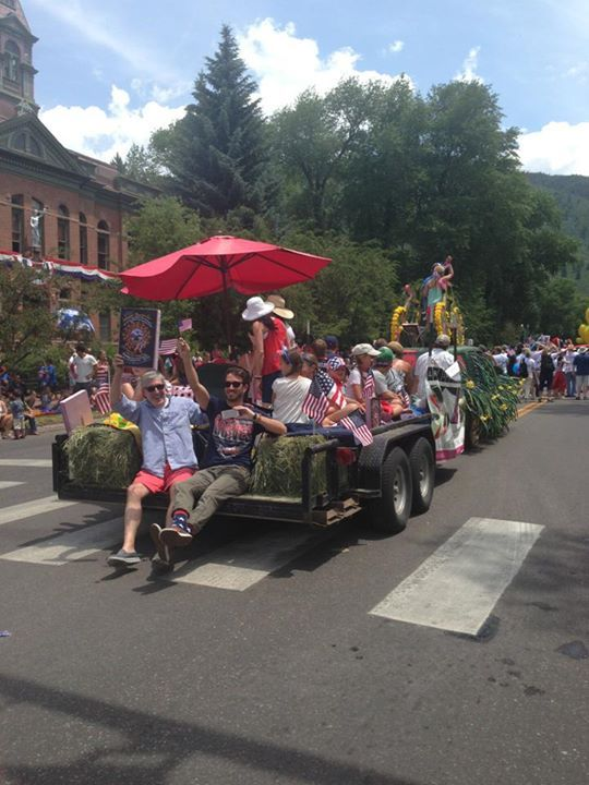 july 4th parade aspen