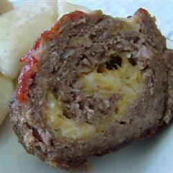 Cheesy Meatloaf Allrecipes.com | Dinner Ideas | Pinterest