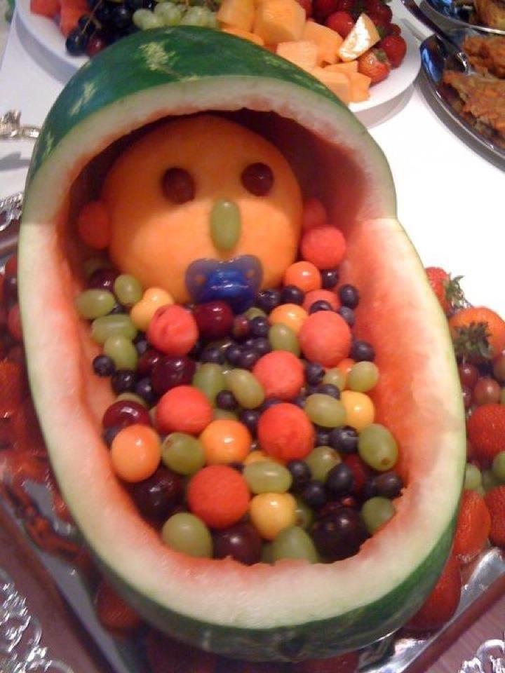 baby shower fruit arrangement fruit decor pinterest