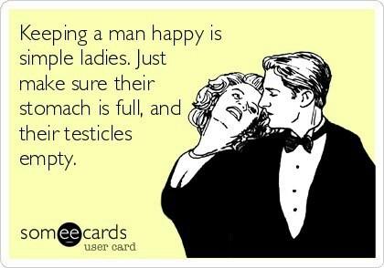 keep your man happy