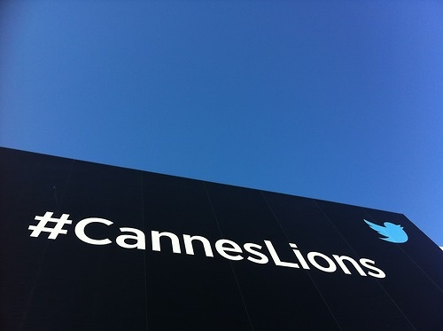 Social definitely took over Cannes this week (image via @alexjakes)
