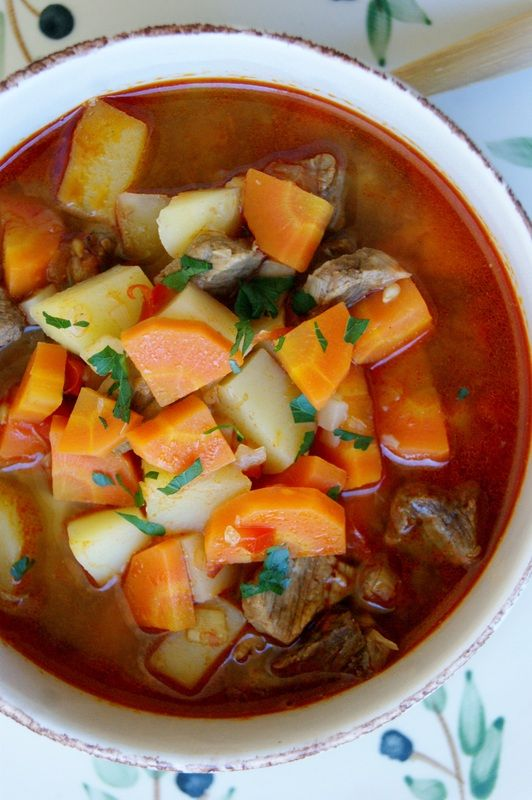Hungarian Goulash Soup | Food & Drink | Pinterest