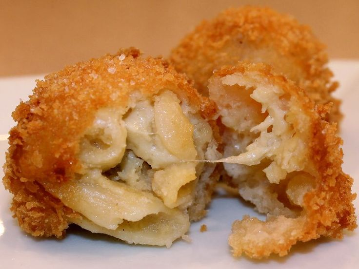 Deep-Fried Macaroni & Cheese | Food - Party snacks n treats | Pintere ...