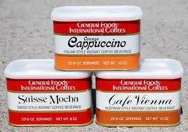 general foods international coffee