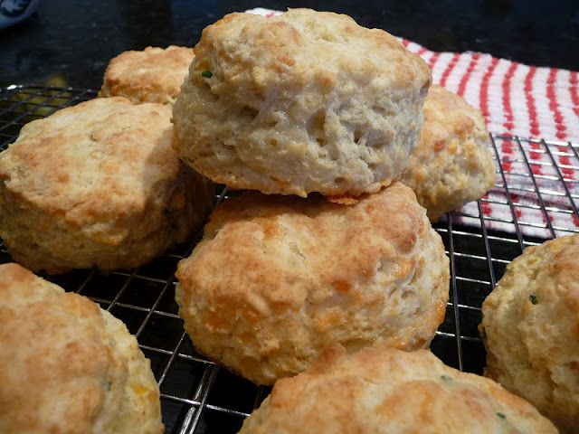 Cheddar Chive Biscuits | Appetizers and Side dishes | Pinterest