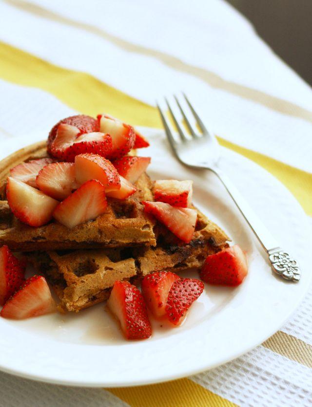 Healthy Spelt Waffles Recipes — Dishmaps