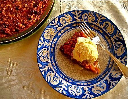 Apple-Matzoh Pudding Cake (sub applesauce for oil)