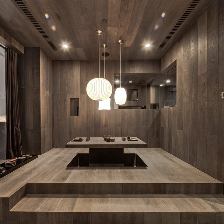 YINGJIA CLUB #architecture #japan #table #club