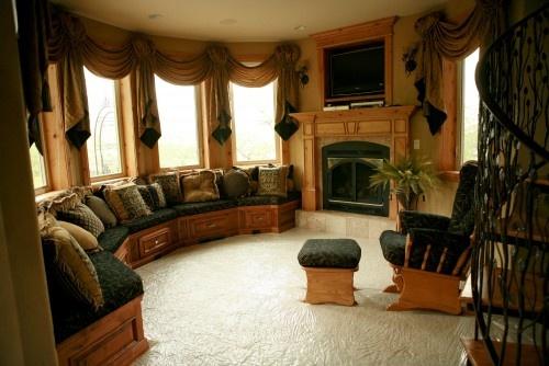 sitting room of master bedroom home ideas