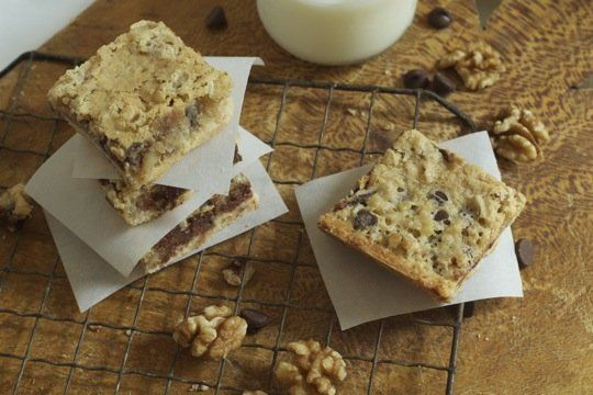 Kentucky Derby Pie Bars, but I will substitute pecans for walnuts as ...