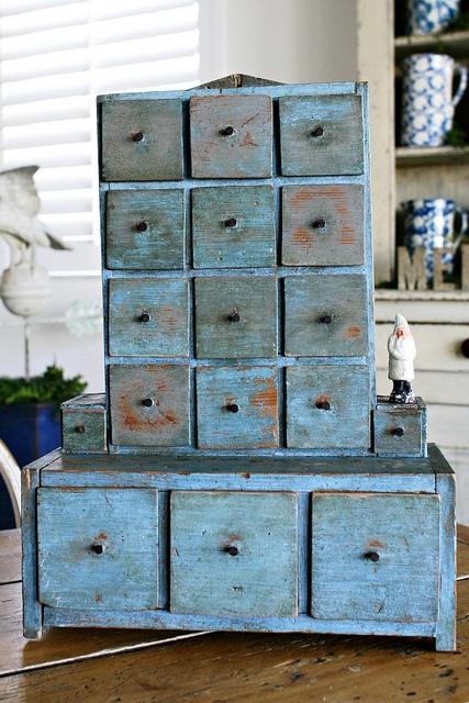 True Blue Americana drawers
