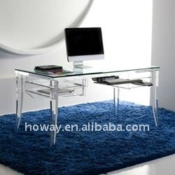 crystal acrylic furniture,acrylic computer desk | Vanities, Desks