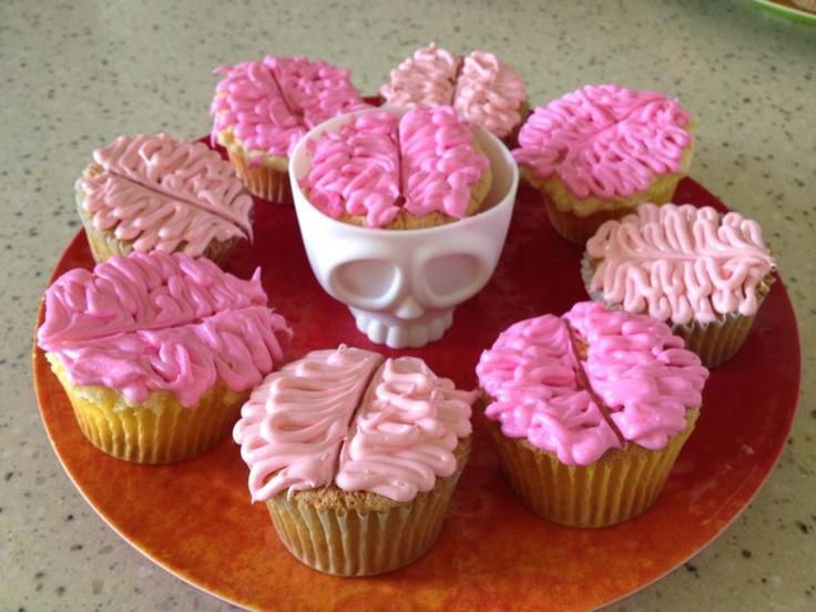 brain cupcakes | cupcakes | Pinterest