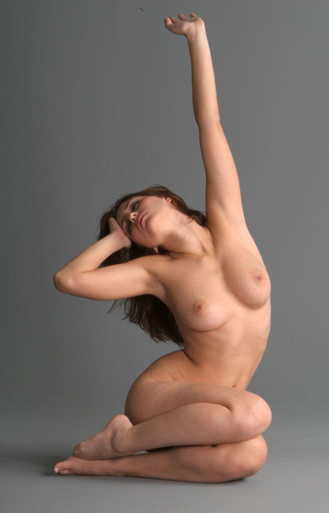 Artist models nude