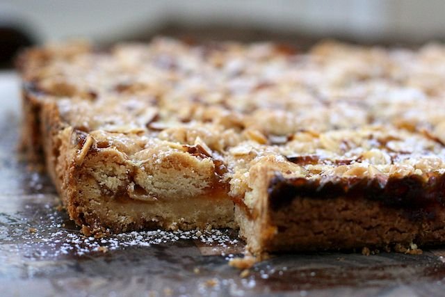 shortbread bars