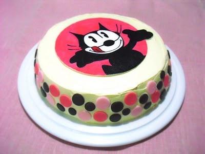 Felix the cat cake