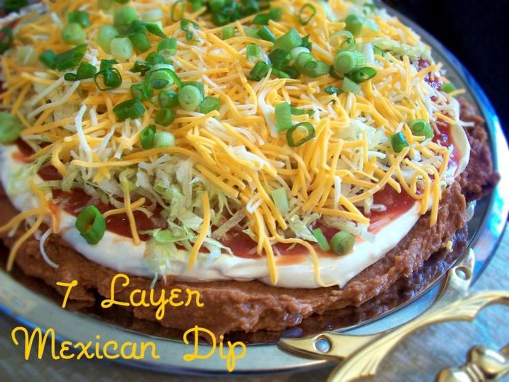 7 Layer Taco Dip | yummy stuff | Pinterest
