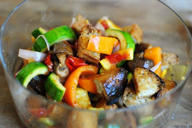 Grilled Vegetable Panzanella | Personally, I would add some butternut ...