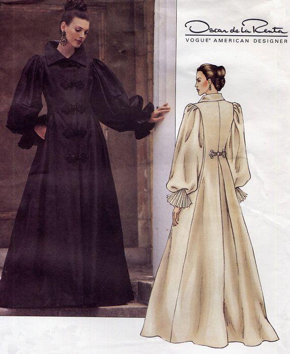 designer steampunk dress pattern vogue 2714 oscar de