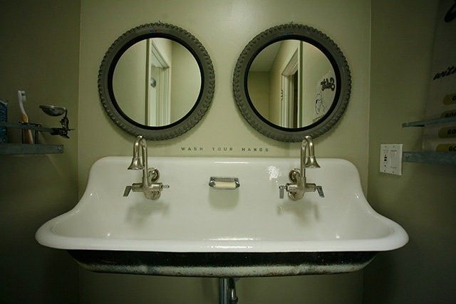 School Bathroom Sinks : School house sink Bathrooms Pinterest
