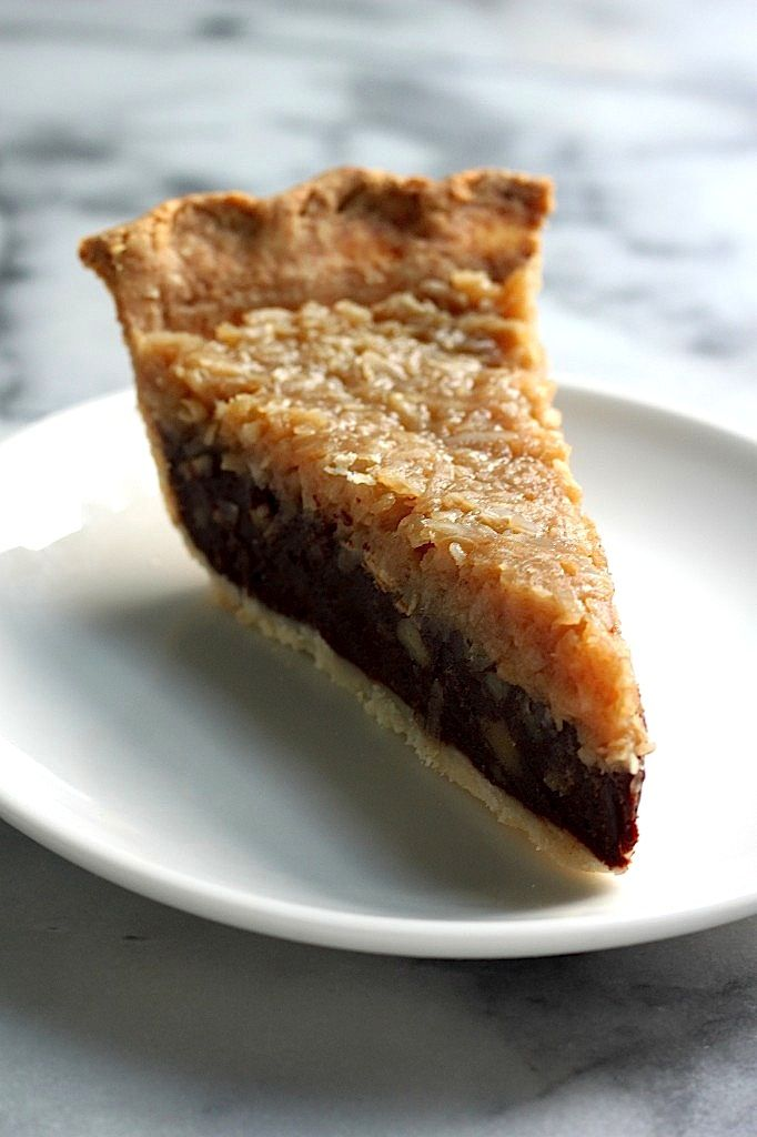 Pecan Pie - a flaky all butter crust filled with a chocolate pecan ...