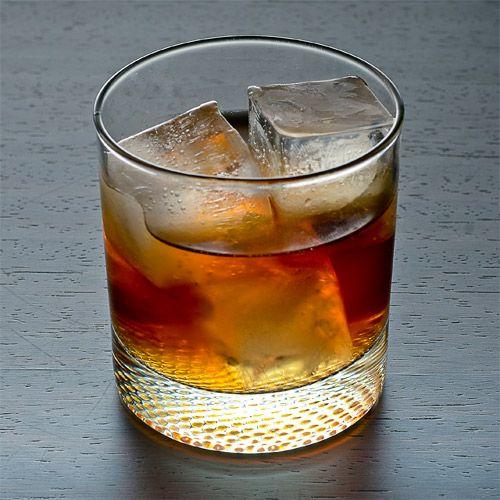 Iced Caramel Coffee 2 oz Van Gogh Dutch Caramel Vodka 2 oz Iced coffee