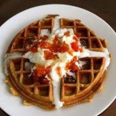 Crispy Walnut Maple Waffles | Foodie Alert | Pinterest